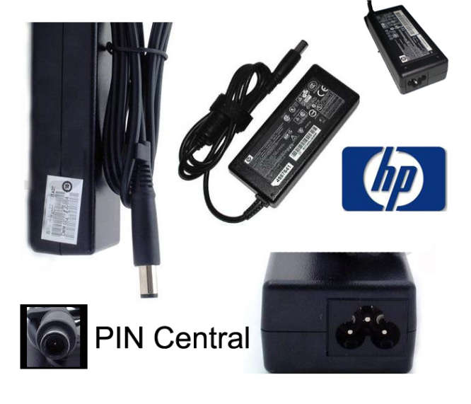 cargador laptop hp original pin central laschimeneas