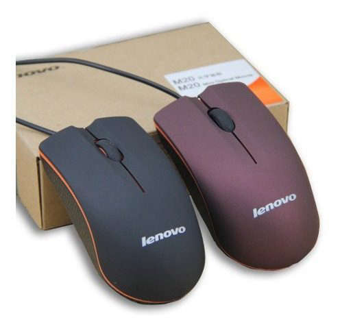 mouse optico usb lenovo 3botones laschimeneas